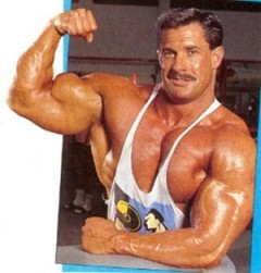 80's Bodybuilders were also known for having ridiculous mustaches.